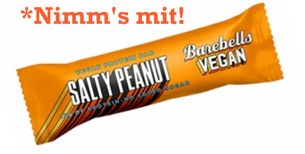Barebells Vegan Bar 1x 55g salty peanut
