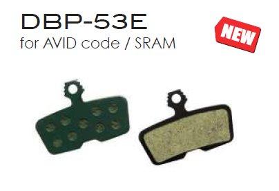 Marwi Bremsbelag Union DBP-53E AVID code / SRAM