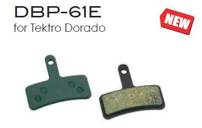 Marwi Bremsbelag Union DBP-61E  TEKTRO Dorado