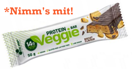 Olimp Veggie Protein Bar 1x50g bisquit